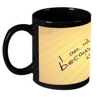 AMY Broken Heart Quote Ceramic Mug (325 Ml)