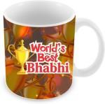 Everyday Gifts Plates & Tableware Everyday Gifts World's Best Bhabhi Ceramic Mug