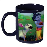 Amy Little Radha Krishna Ceramic Mug (330 Ml)
