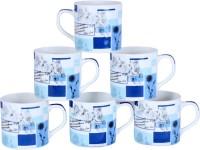 Pearl Cups-F2 Bone China Mug (180 Ml, Pack Of 6)