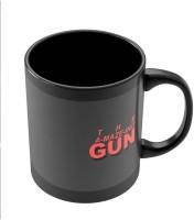 PosterGuy THE A-MAZE-ING GUN Quirky Illustration Ceramic Mug (280 Ml)