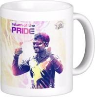 Exoctic Silver Chennai Super King IPL Series XXX 023 Ceramic Mug (300 Ml)
