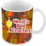 Everyday Gifts Plates & Tableware Everyday Gifts World's Best Teacher Ceramic Mug