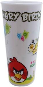 Tootpado Plates & Tableware Tootpado Birds Coffee Tea Cup , Water Glass With A Lid Plastic Mug