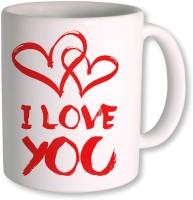 Photogiftsindia I Love You Gifts For Girlfriend Coffee Ceramic Mug (350 Ml)