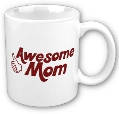 Giftsmate Awesome Mom Ceramic Mug