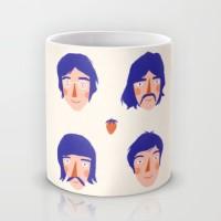 Astrode The Fab Four Ceramic Mug (325 Ml)