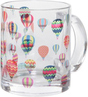 The Elephant Company Up In The Air Glass Mug (300 Ml)