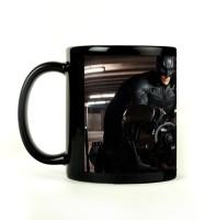Shoprock Batman Bike Mug (Black, Pack Of 1)