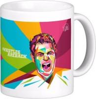 Exoctic Silver Chennai Super King IPL Series XXX 008 Ceramic Mug (300 Ml)