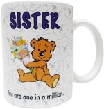 Fantaboy Plates & Tableware Fantaboy Sister You Are in A Milions Ceramic Mug