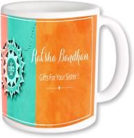 PhotogiftsIndia Raksha Bandhan Gifts For Sister Ceramic Mug (325 Ml)