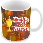 Everyday Gifts Plates & Tableware Everyday Gifts World's Best Nurse Ceramic Mug