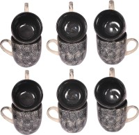 Elite Handicrafts Ceramic_Tea_Cups_140 Ceramic Mug (200 Ml, Pack Of 12)