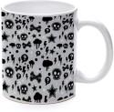 Printland Skull Trend Mug - Multicolor, Pack Of 1