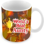 Everyday Gifts Plates & Tableware Everyday Gifts World's Best Aunty Ceramic Mug
