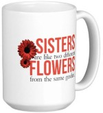 Fantaboy Plates & Tableware Fantaboy Sisters Are Like Flowers Ceramic Mug