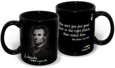 Buy Hot Muggs IM -Lincoln - Right Place Mug: Mug