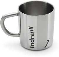 Hot Muggs Me Classic  - Indranil Stainless Steel Mug (200 Ml)