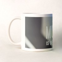 Shoperite Music Is Beautiful Ceramic Mug (300 Ml)