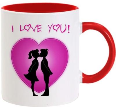 Lolprint 266 Valentines Day Ceramic Mug