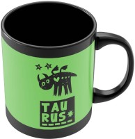 PosterGuy Taurus Green | Zodiac Sign Gifts For Friends & Family Ceramic Mug (280 Ml)