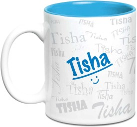 Hot Muggs Me Graffiti - Tisha Ceramic Mug