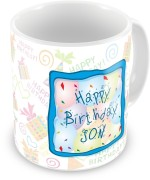 Everyday Gifts Plates & Tableware Everyday Gifts Happy Birthday Gift For Son Ceramic Mug