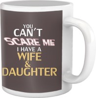 Tiedribbons You Can'T Sacre Me Coffee Ceramic Mug (350 Ml)