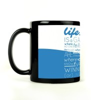 Shoperite Life Is A Game Ceramic Mug (300 Ml)