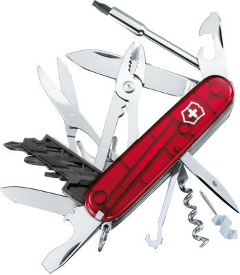 Buy Victorinox Cyber Tool - 34 Swiss Knife at Rs. 4940.00 from Flipkart