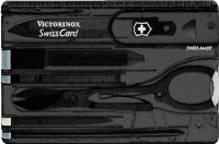 Victorinox Swiss Card Onyx Swiss Knife: Multi Utility Knife