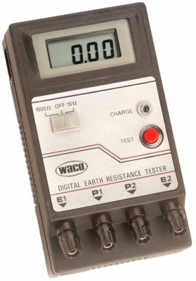 Digital-Earth-Resistence-Tester