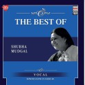 THE BEST OF SHUBHA MUDGAL Audio CD Standard Edition: Music