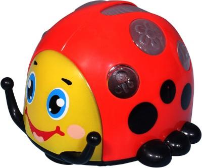 Mitashi Skykidz Rollover Beetle Musical Toy (Red)