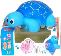 New Pinch Musical Mini Tortoise With Lights, Bump And Go Action (Multicolor)