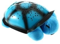 Turban Toys Turtle Night Light Star Constellation LED Child Sleeping Projector With Lights And Music (Blue)