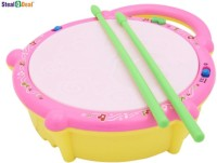 Stealodeal Musical Flash Drum For Kid's (Multicolor)