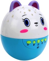 Gift World Cute Roly Poly Cartoon Egg Astral Projection Musical Toy (Multicolor)