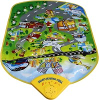 Global Toys & Games Yiqu Musical Carpet City Music Traffic (Multicolor)