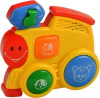 Mee Mee Happy Little Train – Part Of Four Musical Playthings (Yellow)