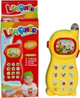 Scrazy Learning Phone For Kids (Yellow)