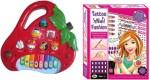 Dinoimpex Musical Instruments & Toys Dinoimpex Strawberry Piano and Tatto 'N'Nail Fashion Combo