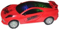 New Pinch Musical Car With 3D Star Lights And Bump And Go Action (Multicolor)
