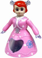 Unica 3D Light Music Dancing Princess Barbie Girl Toy For Kids (Pink)