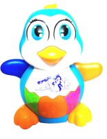 MEF Lights And Musical Penguin Toy For Kids (Multicolor)