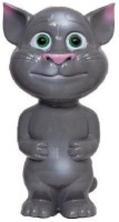 Jai Hind Sales Talking Tom Copycat(Record,Mimmick And Touch Toy) (Grey)