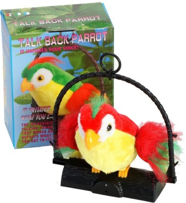 FairToys Talk Back Parrot - Battery Operated Toy (Multicolor)