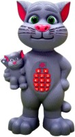 Rvold Talk Back Mimicry Tom Cat With Baby With Touch Features (Multicolor)