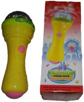 New Pinch 3D Lights Handheld Mike Musical Toy (Multicolor)
